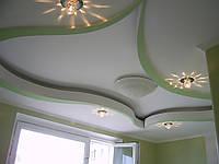 Конструкция подвесных потолков из гипсокартона
