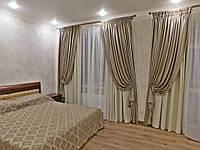 Текстильное оформление 2-х уровневой квартиры ЖК Чайка 10