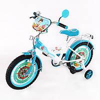 Велосипед TILLY Корсар 16 T-21625 white + blue