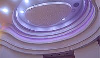 Варианты подвесных потолков из гипсокартона