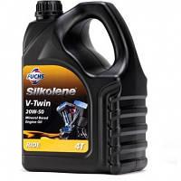 Мотоциклетное масло для 4-тактных двигателей FUCHS Silkolene V-TWIN 20w-50 (4л.)