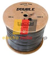 Витая пара BiCoil UTP 0.51 CCA 4PR+PVC DOUBLE