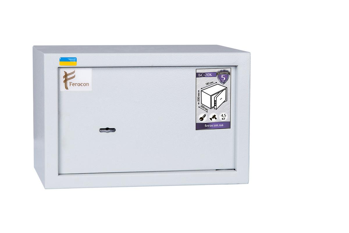 Мебельный сейф ТМ «Ferocon» БС-20К.7035