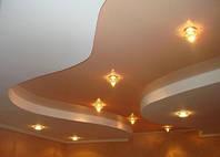 Подвесные потолки из гипсокартона - коридор
