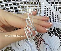 Кольцо из серебра с камнями арт. к8700
