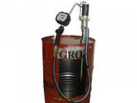 Groz 45309 пневматический бочковой насос с расходомером