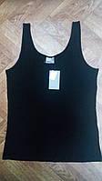 Майка на широких бретелях Vero moda черного цвета