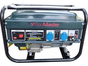 Бензиновый генератор на 3 кВт BauMaster PG-87130X