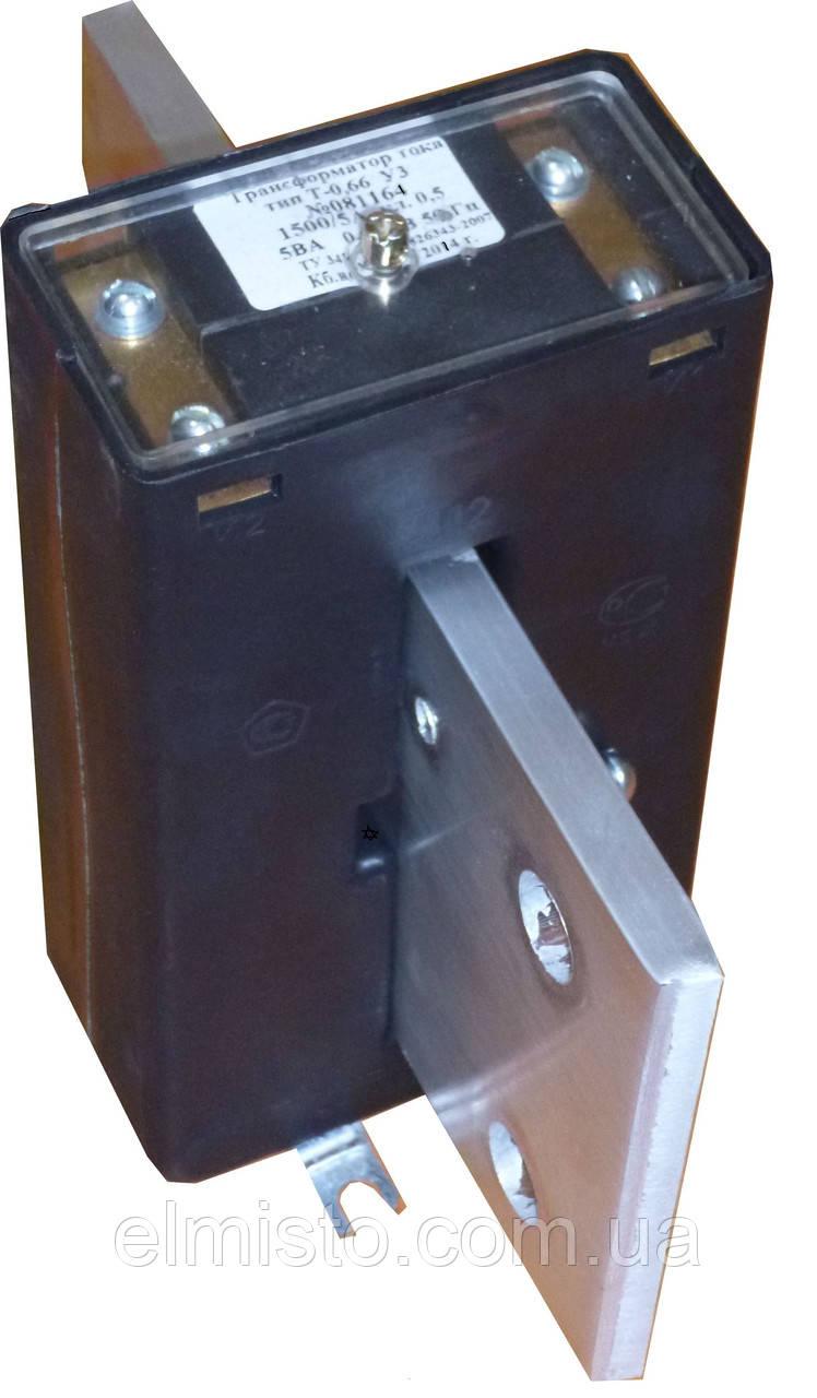 Трансформатор тока Т-0,66-1 500/5 кл.т. 0,5 S