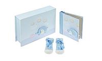Подарок на рождение. Фотоальбом и носочки, Baby Boy Gift