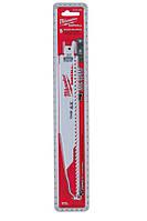 Полотно для сабельных пил для работ по дереву/пластику Milwaukee 48005026, 10-175/10-50 мм, 5 шт (48005026)