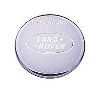Колпачек Land rover серебристый+хром