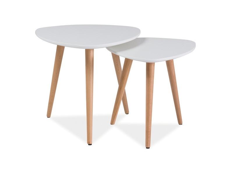 Деревянный журнальный столик Nolan А (Signal)