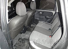 Чохли на сидіння Ніссан Ноут (чохли з екошкіри Nissan Note стиль Premium)