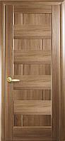 Дверное полотно Новый Стиль Пиана золотая ольха 60см глухое