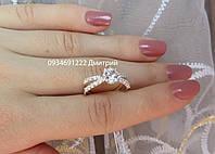 Кольцо элегантное из серебра