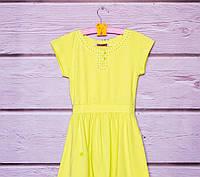 Платье трикотажное для девочки р. 128,134