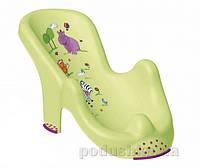 Анатомическая форма для ванны Prima baby Hippo зелёная