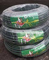 """Шланг поливочный Green Line 3/4"""" (резина+силикон, толщина стенки 2,5 мм) (бухта 25 метров)"""