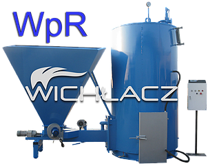 ПАРОГЕНЕРАТОР с Автоподачей топлива «WICHLACZ Wp R» производительностью 100-1000 кг пара в час