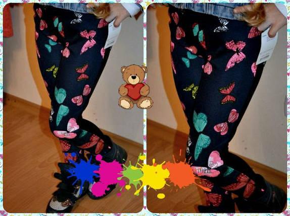 """Трикотажные детские лосины """"Весна"""" с узором (2 цвета), фото 2"""