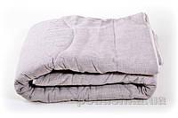 Одеяло льняное стёганое Хэппи лен зимнее 170х210 см вес 4600 г
