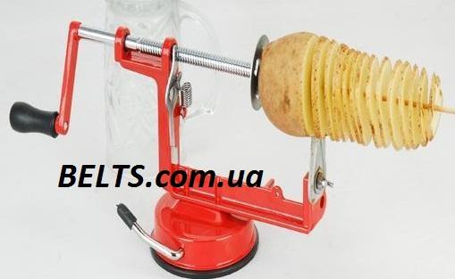 Овощерезка для картофеля Spiral Potato Chips (машинка для нарезки картошки спиралью Спираль Потейто Чипс)