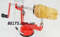 Овощерезка для картофеля Spiral Potato Chips (машинка для нарезки картошки спиралью Спираль Потейто Чипс), фото 1