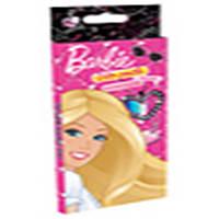 """Карандаши цветные ПЛК BRAB-US1-1P-18 18цветов """"Barbie"""" с карт/европодвесом, дерево - липа"""