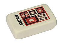 "Ластики Factis 18CMS белый прямоуг 46х28,5х13,5 с рисунком ""Серфинг (Геометр. фигуры)"""