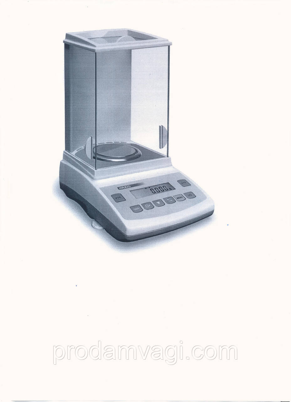 Весы аналитические ANZ 160c. Поверка