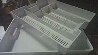 Лоток для столовых приборов с поддоном