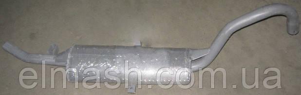 Глушитель ВАЗ 2104 с минеральным наполнителем закатной (пр-во Украина)