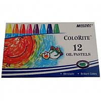 """Пастели масляные Marco 1100OP-12 12цветов масл.""""Colorite"""""""
