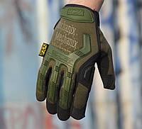 Перчатки Mechanix M-Pact 1, защита костяшек, Механикс
