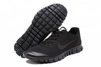 Кроссовки мужские Nike Free 3.0 V2 Black черные13, фото 1
