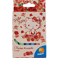 "Мел Kite HK15-075K 12цветов ""Hello Kitty"""