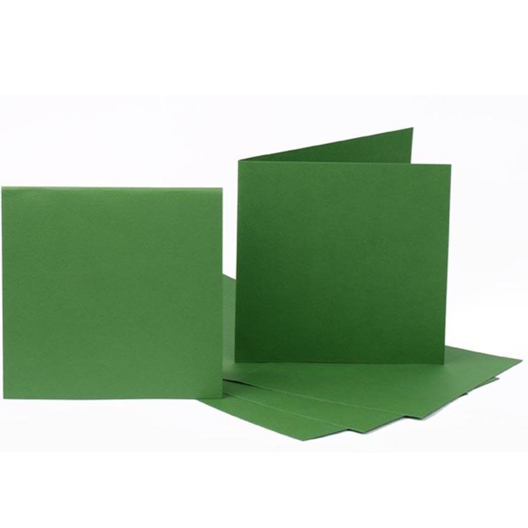 Набор заготовок для открыток Fabriano 94099058 темно-зеленый 5шт, 16,8х12см, №11,220г/м2 - Интернет-магазин «Моё дело» в Харькове