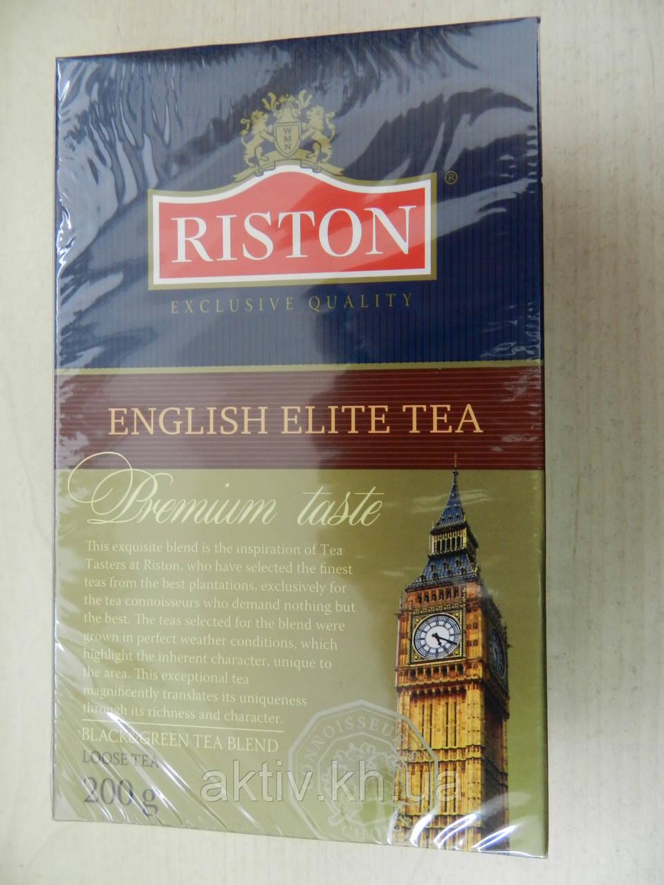 Чай Ристон чорний з зеленим