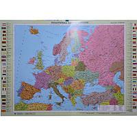 Карта настенная Ипт 110х77 Мир. Политическая карта (картон) М1:32000000