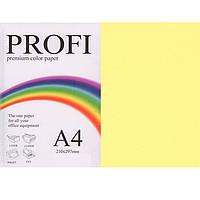"""Бумага пастельных тонов PROFI 160 (36435) желтый А4 80гр 500л """"Light Yellow"""" пастельный"""