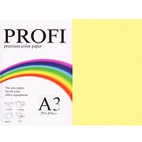 """Бумага пастельных тонов PROFI 160 (43206) желтый А3 120гр 250л """"Light Yellow"""" пастельный"""