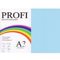 """Бумага пастельных тонов PROFI 120 (36455) голубой А3 80гр 500л """"Light  Ocean"""" пастельный"""