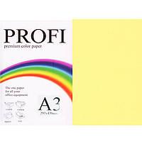"""Бумага пастельных тонов PROFI 160 (36383) желтый А3 80гр 500л """"Light Yellow"""" пастельный"""
