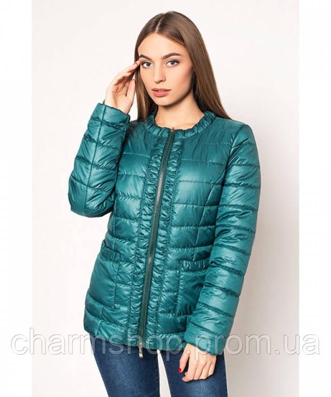 Стеганные куртки женские