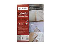 Этикетки листовые Optima 25124 114,5х114,5мм 2шт для CD дискiв