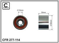 Ролик обводной ремня ГРМ HYUNDAI ACCENT 1,5D/I30 1,5D/ HYUNDAI SANTA FE 2,0