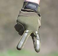 Перчатки тактические BLACKHAWK (Блэкхоук). Олива, фото 1