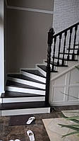Деревянная лестница (дуб,ясень,ольха,сосна)