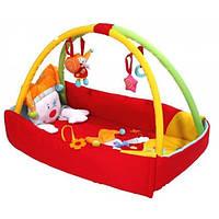 Игровой развивающий коврик с бортиками BabyOno  Клоун